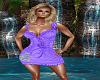 Purple W/Love Dress