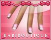 Moms Pink Slender Nails