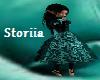 Lolita Teal Goth Dress