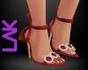 Tatiana heels red