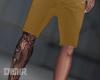 Tan Shorts + Tats