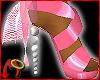 [m] Ball Heels Bows Pink