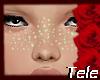 Pastel Green Freckles