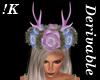!K! Antler Flower Crown2