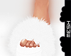 ! MH Fuzzy Slippers