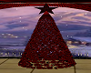 ~D~ Red Glam Bauble Tree