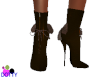 fancy brown boots