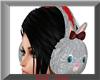Christmas Bunny Earmuffs