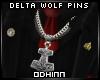 ᛟ Delta Wolf Suit Pins