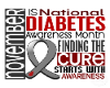 Diabetes Sticker