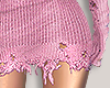 I│Knit Skirt RLL Pink