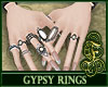 Gypsy Rings White