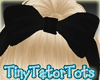 Kids Big Black Hairbow