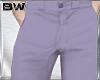 Purple Pastel Trousers M