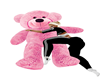 PINK SLEEP WITH ME TEDDY