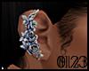 *0123* Rose Ear Cuff