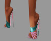 [BRI] Classy Heels Teal