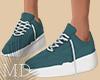 Simple Blue Shoes