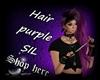 Hair Purple SIL