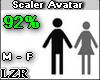 Scaler Avatar M - F 92%