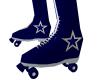 NFL Cowboys Skates M