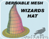 Derivable Wizards Hat