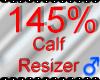 *M* Calf Resizer 145%