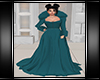 Winter Gown Teal