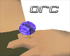 !ORC!Sappire blue Ring