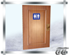Clinical Bathroom Door