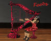 Romantic Animated harp
