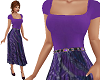 TF* Modest Purple Dress
