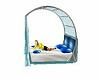 Blue Canope bed