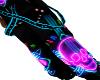 Neon Music Skull Pant F