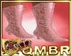 QMBR Boot Victorian Pink