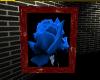 [JT] Framed Blue Rose