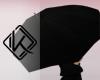 !A black umbrella