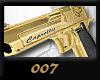 (+_+)GOLD 007 M/F GUN