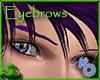Sculpted Grape Eyebrows
