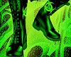Biohazard green  Boots