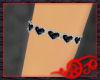 Black Heart Armband rght
