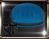 Small armchair blue