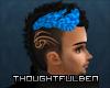 Dyed Tribal Hair Teal2