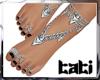 lTl Feet Chain Silver 1