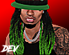 !D Dreads For Hats Green