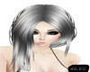 Silver Straight hair