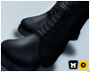Boss Leather Boots Black