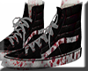 Blood shoes