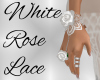 White Rose Lace