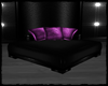 Black/Purple Cornerseat